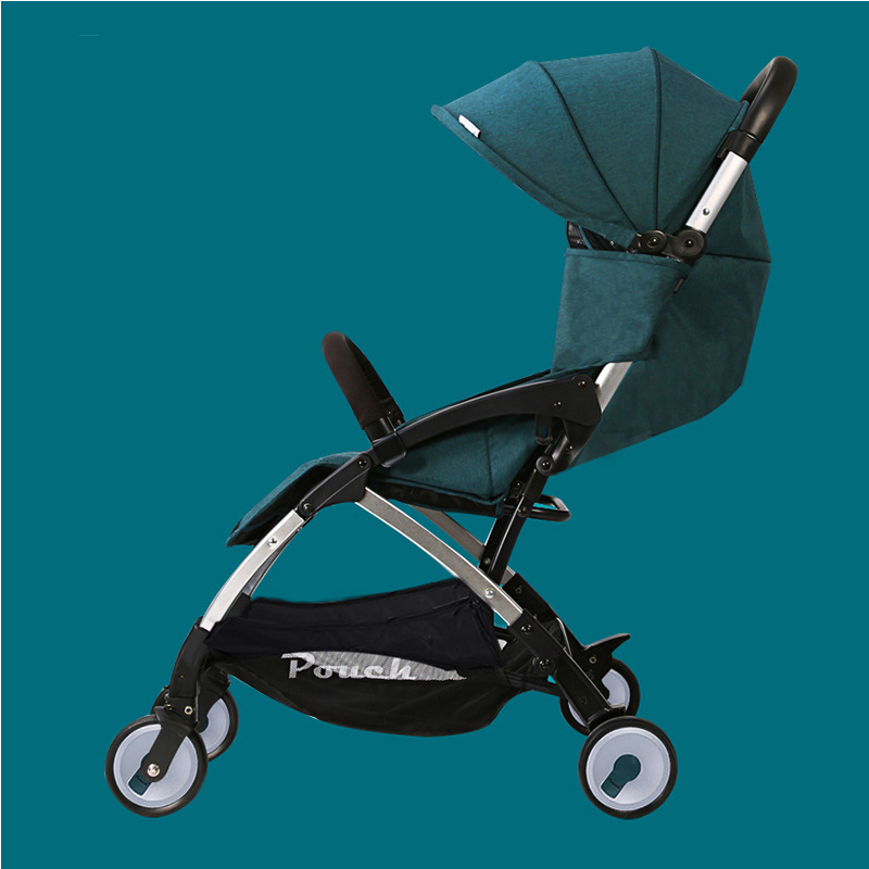 Lightweight baby stroller folding baby carriage can sit can sleep child baby pram for boys girls 0-3 year old children electric vehicle four wheel remote control automobile can sit child 4 5 year baby 1 3 year baby vehicle can sit people