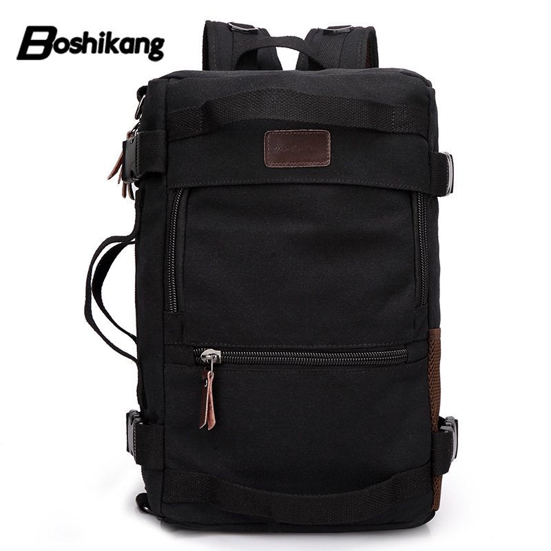 Canvas Backpack School Rucksack Drawstring Backpacks Big Travel Shoulder Bagpack Travel Laptop Back Pack