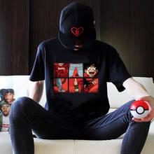 2019 Cool Dragon Ball T Shirt Streetwear Summer Goku Print t-shirt casual O-Neck Tshirt men tops Amine Short Sleeve tees shirts