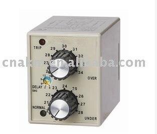 DC Voltage Electronic Voltage Protection Relay DC12V 24V 36V 48V