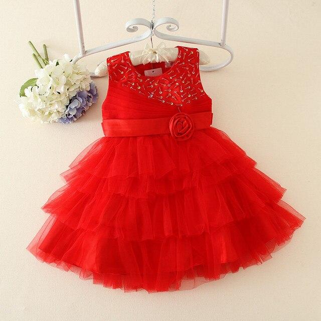 New Girl Dress Design Baby Girl Fancy Dress-in Dresses