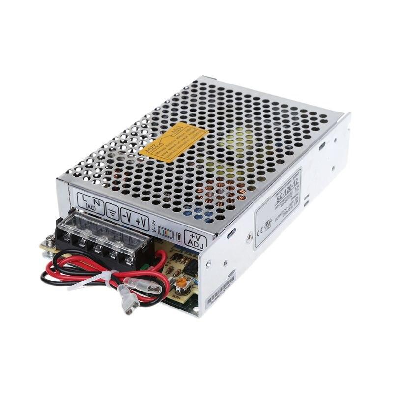 SC-120W-12V 10a fonte de alimentação de comutação com carregador de bateria do monitor ups