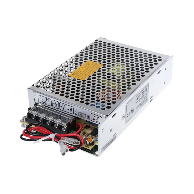 SC-120W-12V 10A Switching Power Supply With UPS Monitor Battery Charger image