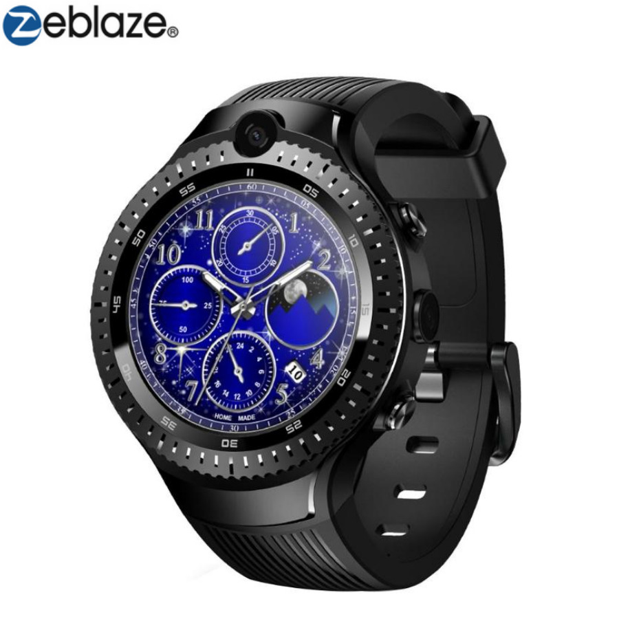 Zeblaze THOR 4 Dual 4G LTE Video Call 5.0+5.0MP Dual Camera GPS/GLONASS 1GB+16GB Smart Watch Phone