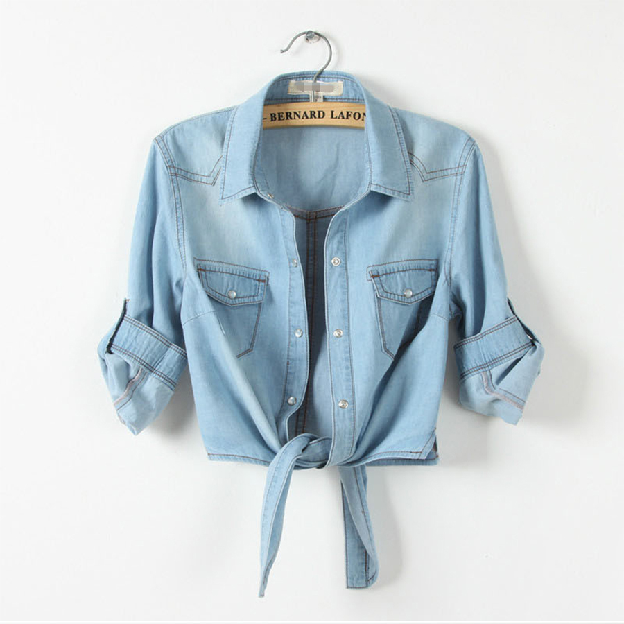 Camisa mujeres Aliexpress de de de jean las TOiPkXZu
