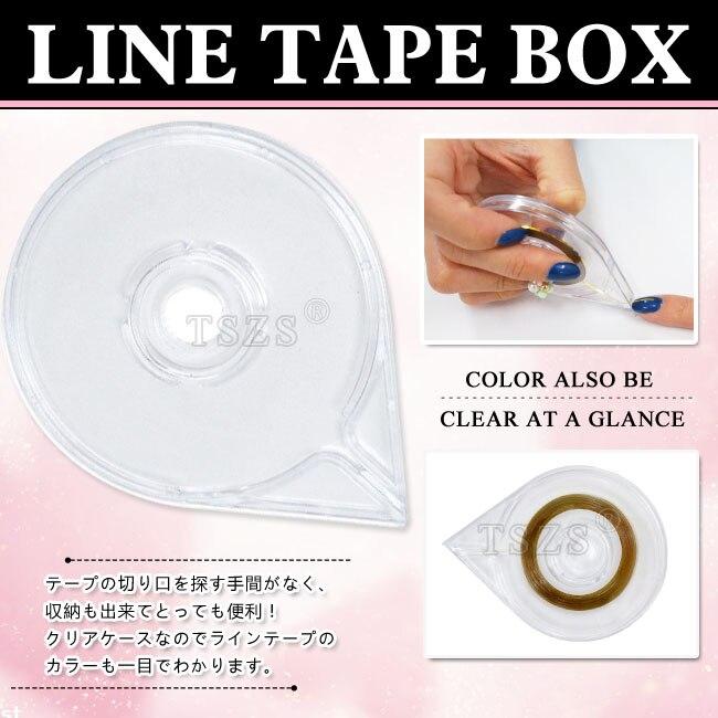 2pcs/lot Striping Tape Dispenser Case Box Holder