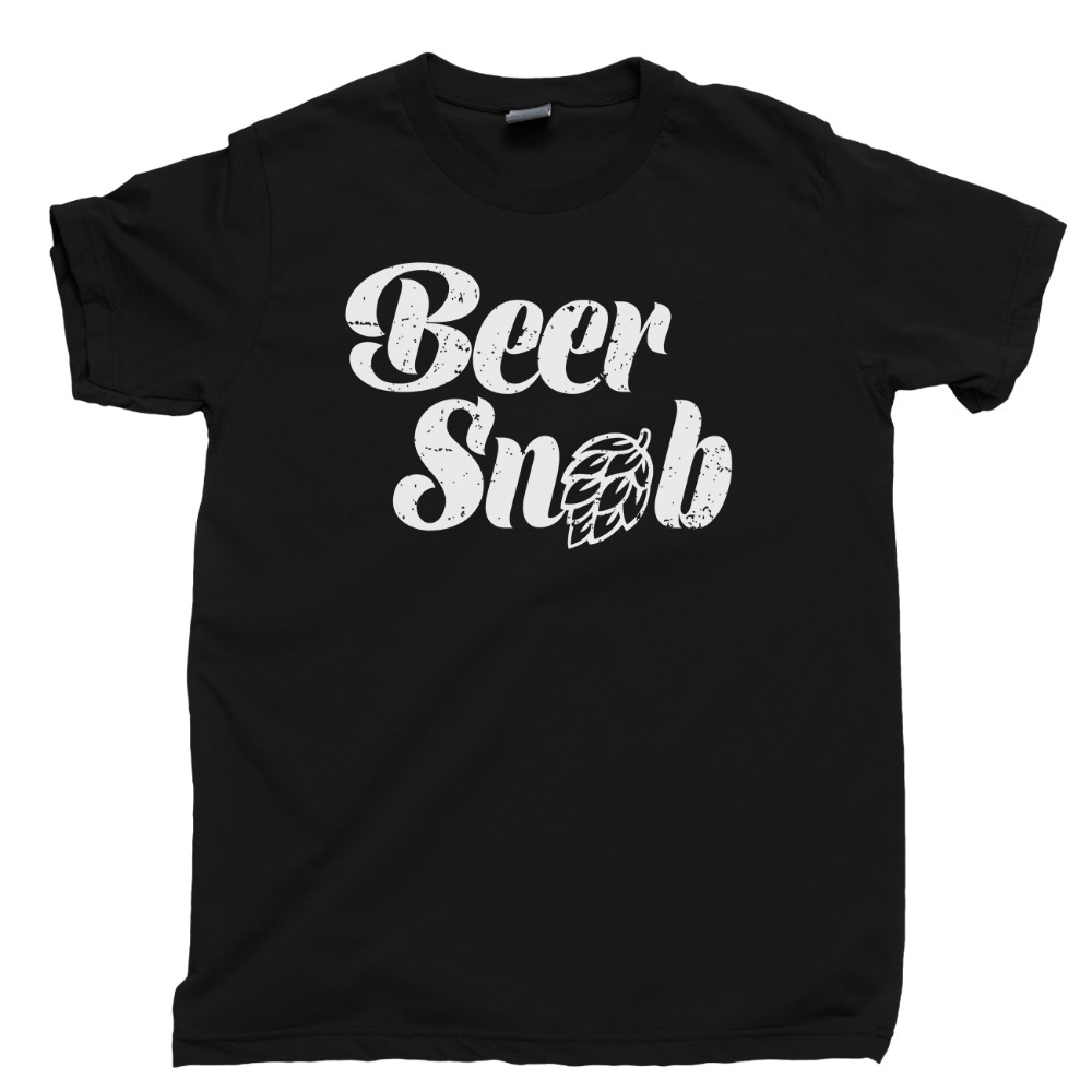 Beer Snob T Shirt Craft Beer Triple Ipa Porter Stout Belgian Sour Ale Hops Newest 2019 Fashion O-Neck Brand Men'S Tee Shirts image