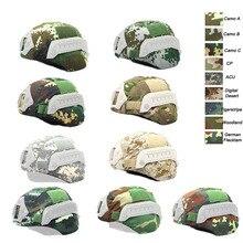 Тактический шлем аксессуар тактический камуфляж Mich 2000 Быстрый Шлем Крышка