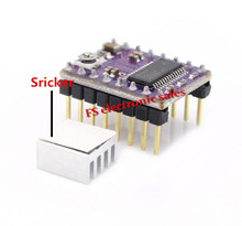 3d printer parts 5pcs stepstick Drv8825 Stepper Motor Driver 4-layer PCB Board Drive Carrier RAMPS replace A4988