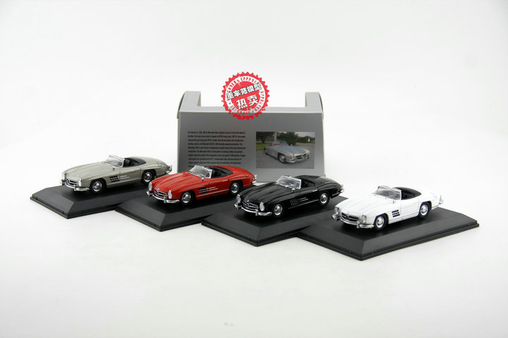Classic Diecast Toy Model 1:43 Mercedes-Benz 300 SL (W198) Vintage Car Vehicles For Gift,Decoration,Collection