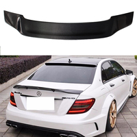 W204 4Door Carbon Fiber Renntech Style Auto Car Rear Trunk Spoiler Wing for Mercedes Benz W204 2007 2014