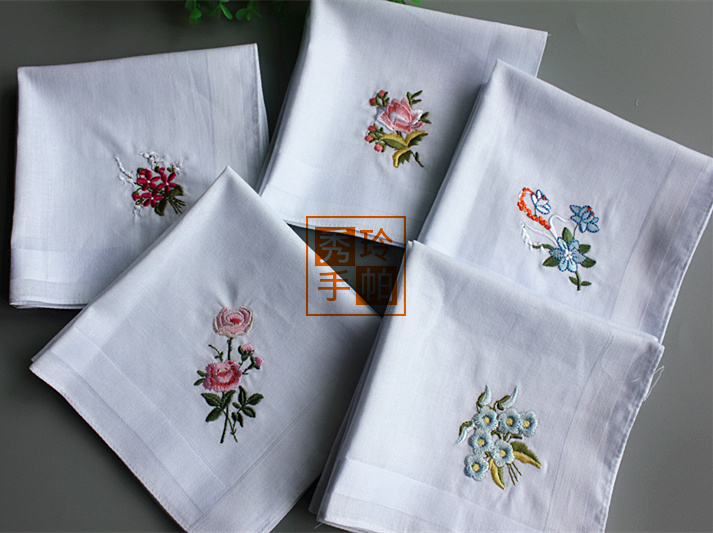 Online Buy Wholesale Embroidered Wedding Handkerchiefs From China Embroidered