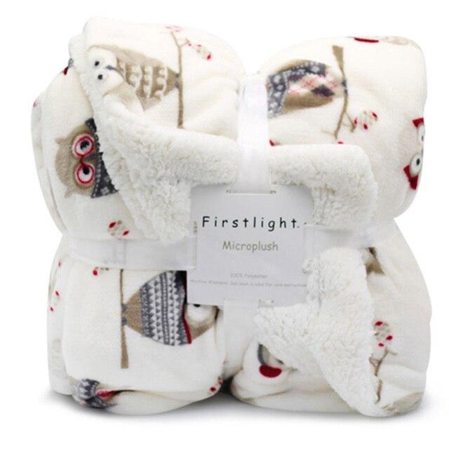 Winter Fleece Printed Blanket 3
