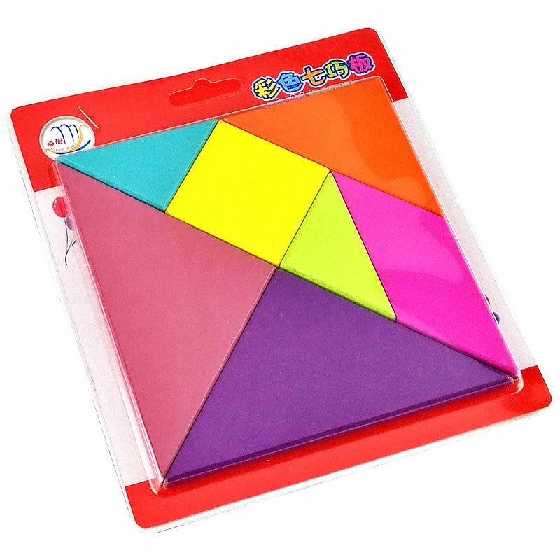 Bezmaksas piegāde koka rotaļlietas krāsu finierzāģis Puzzles, bērnu ģeometrisko puzles, Kids agrīnā izglītības puzzle rotaļlietas