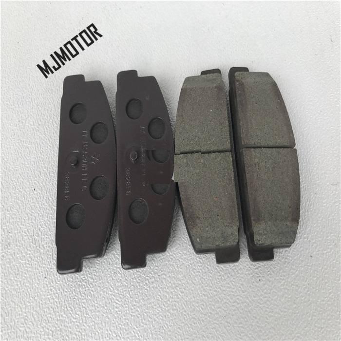1 paire/kit plaquettes de frein arrière set auto voiture PAD KIT-RR freins à disque pour chinois MAZDA 6 FAW Pentium Automobile moteur partie GJYA-26-43Z - 2