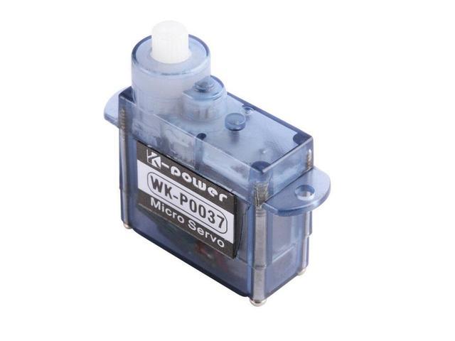 Microservo para avión de control remoto, helicóptero, Dron, barco para Arduino, 1 Uds./3 uds./5 uds./10 Uds./20 piezas Uds. K power P0037 3,7G