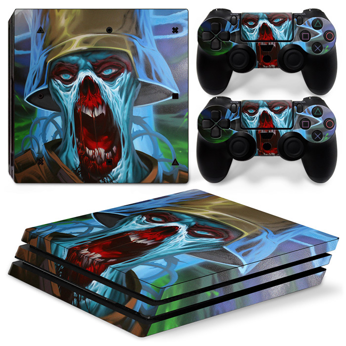 Console Controller Vinyl Skin Decal Stciker for Sony PS4 Playstation 4 Pro