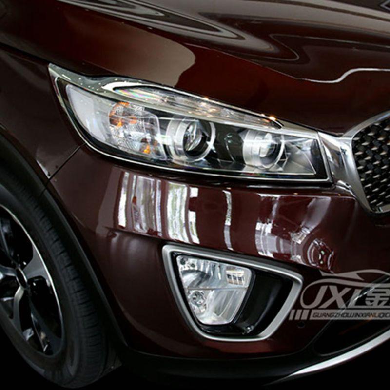 2018 Kia Sorento Exterior: For Kia Sorento 2016 2017 ABS Chrome Exterior Front