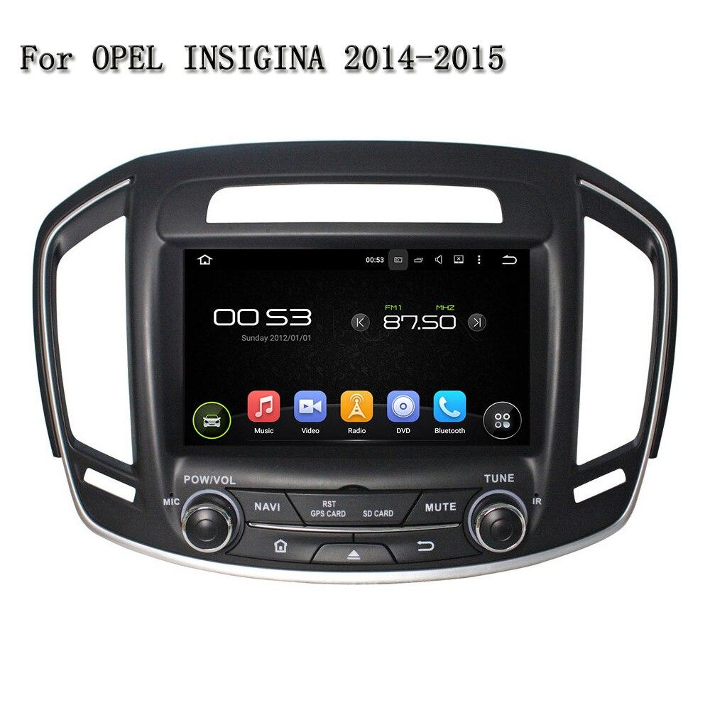 1024*600 Android 5.1.1 автомобильный DVD GPS Зеркало Ссылка Радио Видео Аудио плеер GPS автомобиля DVD в тире для opel insigina 2014-2015