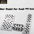 TT A3 AT Aluminum alloy Car Pedal for Audi ABT Style brake pedal car Foot Rest Pedal