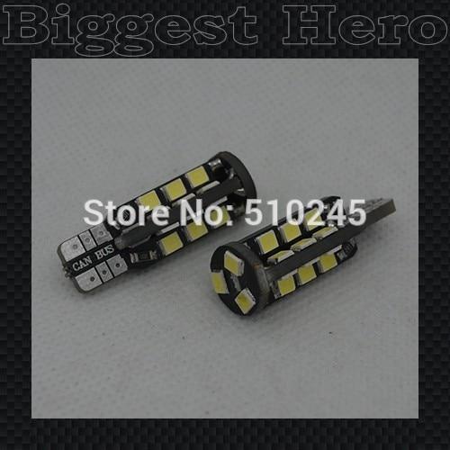 300X auto T10 27 smd 2835 LED car Light lamp T10 W5W 194 2835 SMD 12V LED Light Bulb Free Shipping