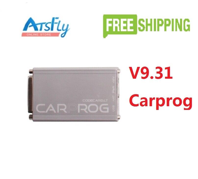 ФОТО Hottest Carprog V9.31 Carprog Full 21 Items Adapters Auto Repare Tool(Airbag/Radio/Dash/IMMO/ECU) Car Prog Programmer