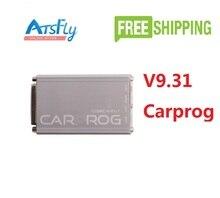 Горячие V9.31 Carprog Carprog Полный 21 Пунктов Адаптеры Авто Repare Инструмент (Подушка Безопасности/Радио/Даш/IMMO/ECU) Автомобилей Prog Программист