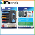 10set/lot Complete Opening Tools Box Set For iPhone 5 boxed set with screw plate+cut card machine 15 sets Free Shipping by DHL