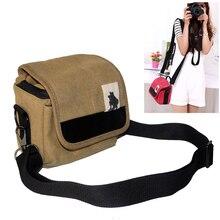 Buy digital Camera Bag Case for  Pentax K01 Q7 Q shoulder bag K50 K30 KS1 KS2 QS1 +18-55 Lens canvas case