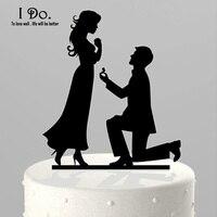 Free Shipping Acrylic Marry Me Wedding Cake Topper/wedding Cake Stand/wedding Decoration/cake Decorating Supplies