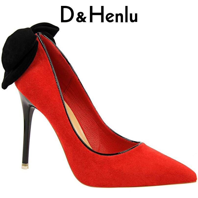 2018 Autumn Women Pumps 8cm Fashion Sexy High Heels Shoes Shallow Pointed Toe Thick Heel Ladies Wedding Party Women Shoes luxury brand crystal patent leather sandals women high heels thick heel women shoes with heels wedding shoes ladies silver pumps