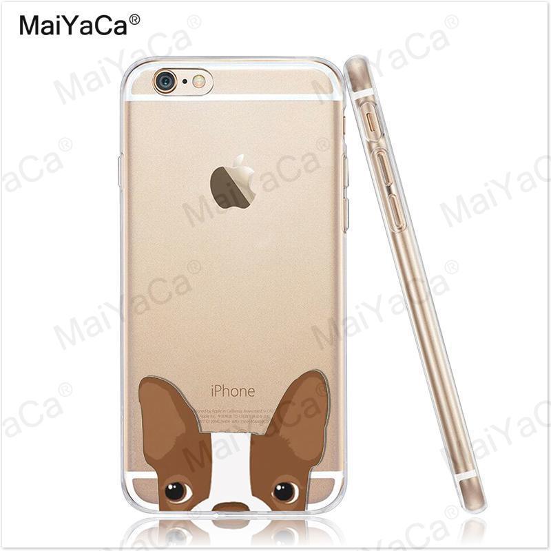 MaiYaCa pet dog Soft Transparent TPU Phone Case Case Cover Cover For - Ανταλλακτικά και αξεσουάρ κινητών τηλεφώνων - Φωτογραφία 3