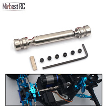 DIY parts for Wltoys 12428 12423 RC car accessories metal universal drive shaft Upgrade Transmission Shaft Off-Road Parts