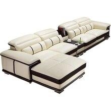 Divano Home Kanepe Recliner Moderno Para Sectional Sillon Couch Meuble Maison Leather Furniture Mobilya Mueble De Sala Sofa