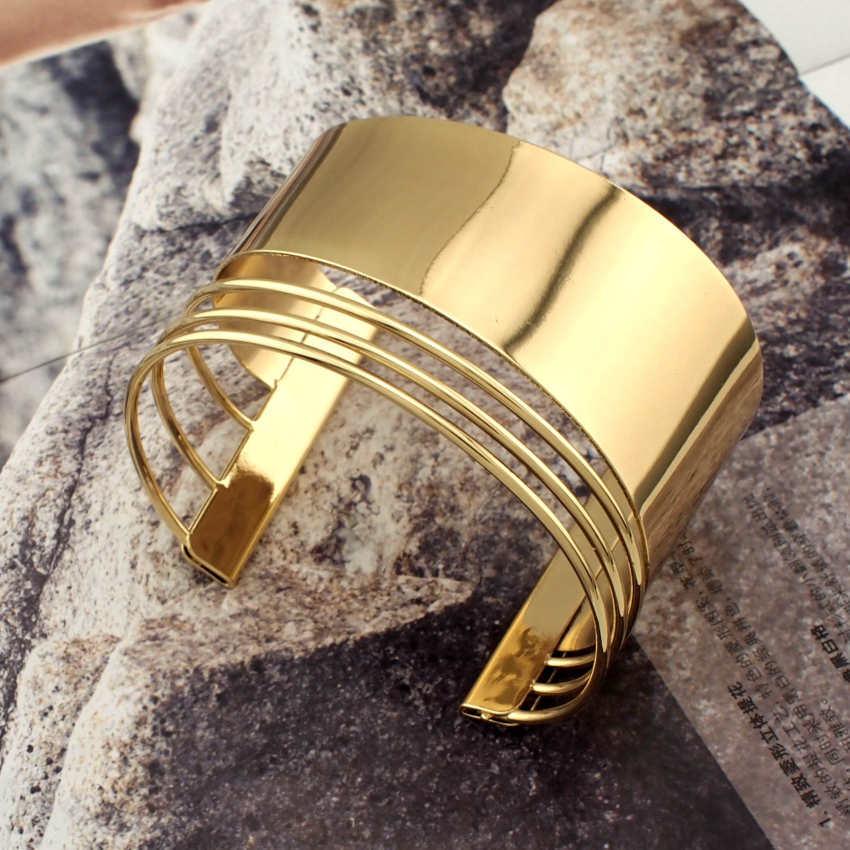 Graceful women cuff bangles fashion accessories 3