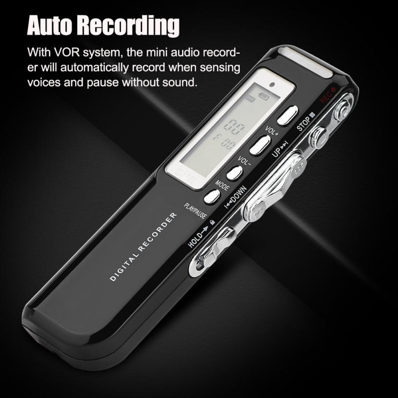 Unterhaltungselektronik 2019 Mode Digital Voice Recorder Pen Mehrsprachige 8 Gb Speicher Auto Recording Mini Audio Recorder Phone Call Recording