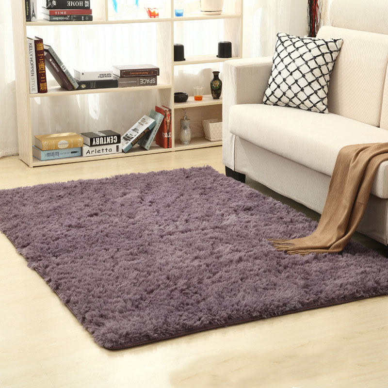 16 Colors Living Room Kids Room Bedroom Rug Antiskid Soft Carpet Modern  Carpet Mat Home Warm Plush Floor Rugs Fluffy Mats