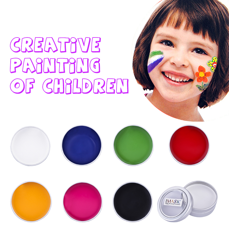 Professional Face Paint Body Paint Waterproof Pigments White Black Red Blue Brand Safe Children Party