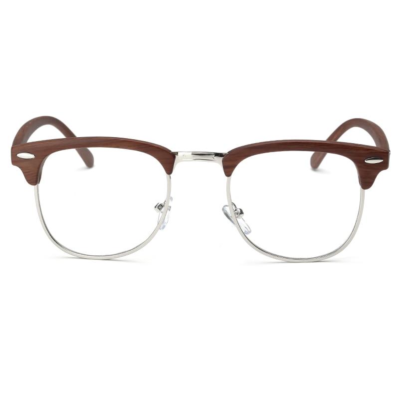 Brand Optical Eyeglasses Men Frames Women Half Rim Clear Lens Eye glasses Frames for Women Female vintage Spectacle Frame Myopia