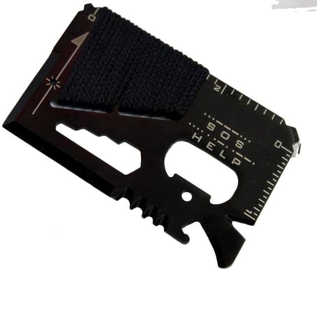 Credit Card Size Multifunctional Pocket Hunting Knife Kit 3