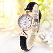 93ff7e5ee5d Nueva marca de lujo relojes mujer 2018 moda elegante Mini Reloj de cuarzo  pequeño señora Casual Reloj de pulsera para mujer Relo.