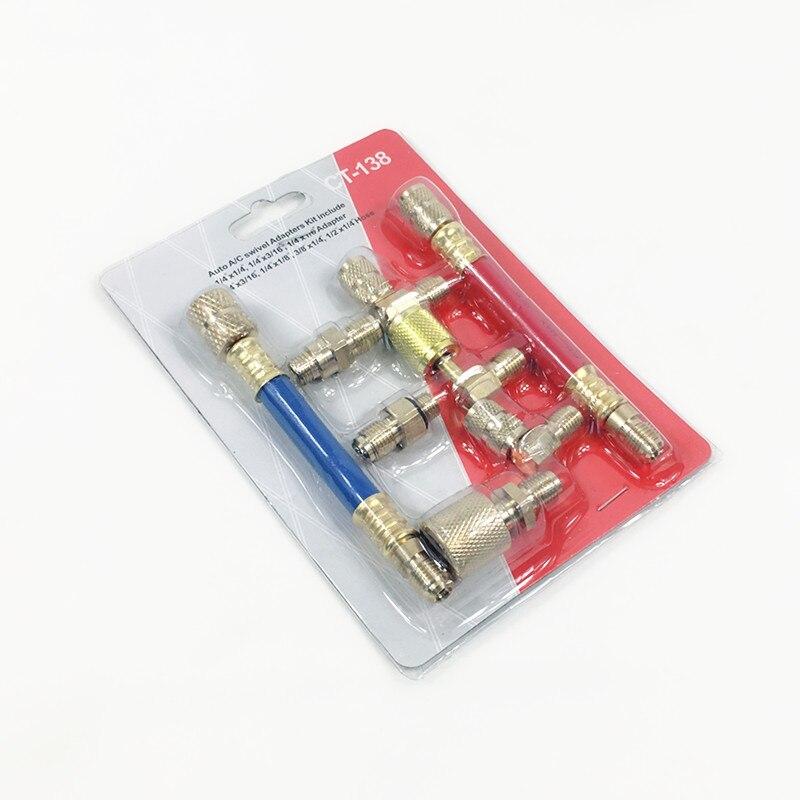 Auto R12 R134A A//C Ventil Core Ventile Auto Klimaanlage Ausbau Werkzeug Set