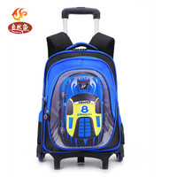 Free Shipping Dual Use Portable PU Trolley Bag Luggage Travel Bag Pulley Barrels New 2014