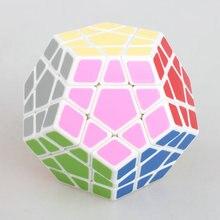 Высокое Количество Shengshou Megaminx Головоломка Скорость Додекаэдр Гладкий Magic Cube Цвет черный/белая Змея Специальные Игрушки Бесплатная доставка