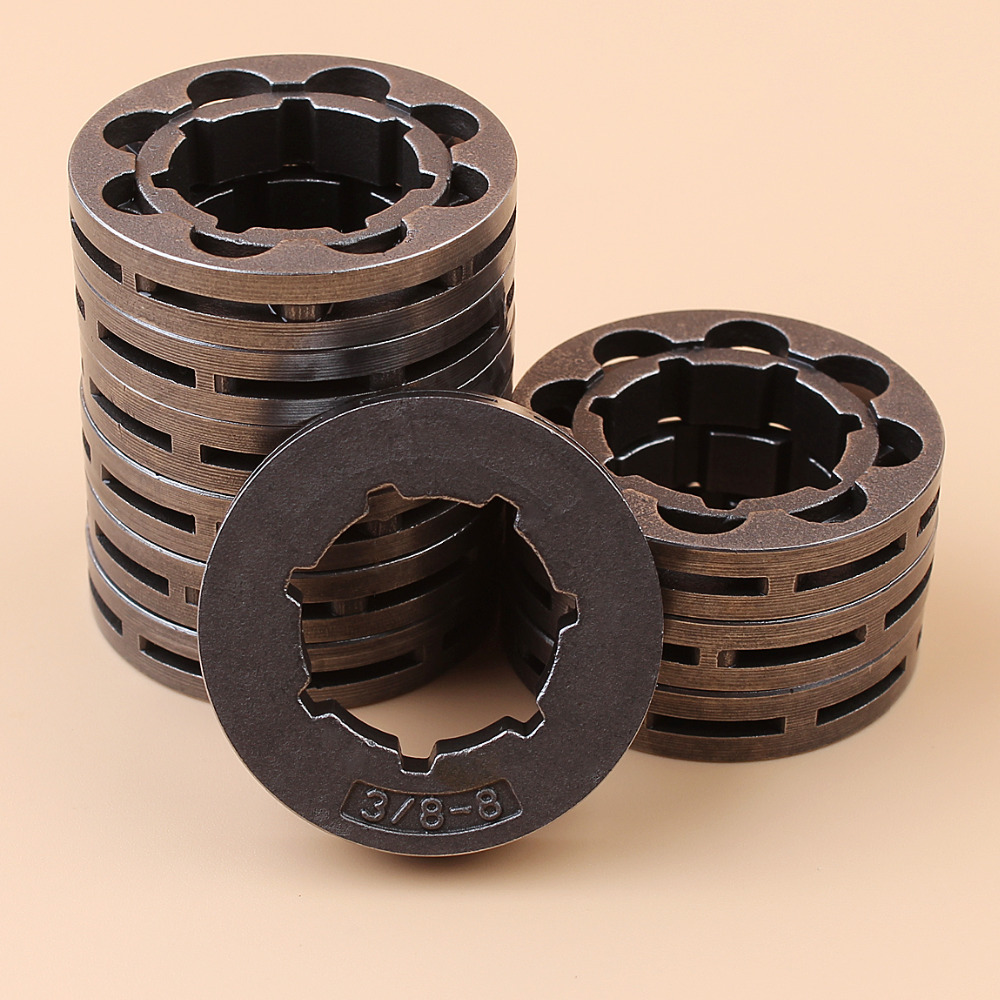 цена на 10Pcs 3/8 8T Clutch Sprocke Rim For STIHL MS660 MS650 MS460 MS441 MS440 MS362 MS361 MS311 066 064 046 044 031 032 038