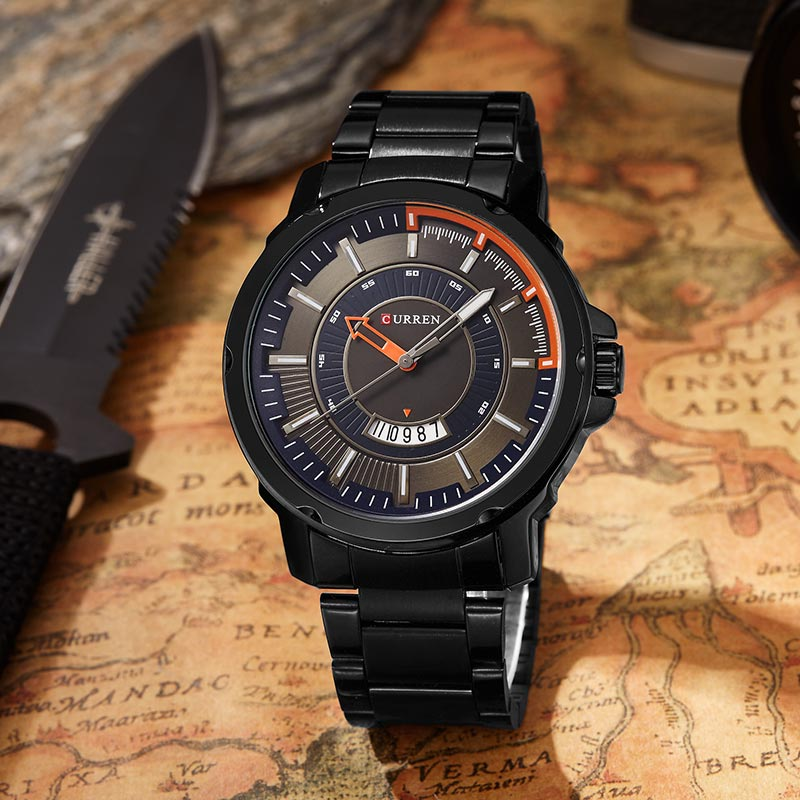 Curren Luxury Sport Quartz Ժամացույցներ - Տղամարդկանց ժամացույցներ - Լուսանկար 6
