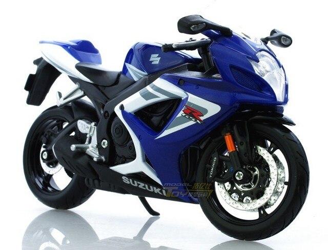 Maisto 1:12  SUZUKI GSX  R750  sport    Alloy super motorcycle Model !