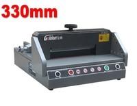 Professionelle Elektrische Papier Schneiden Maschine Guillotine Cutter 330mm machin machine roadmachine polish -