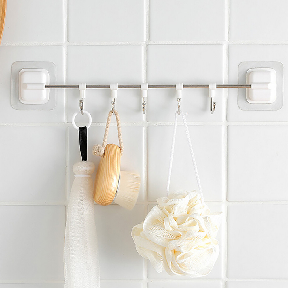 Kitchen Utensils Rack Holder Ceiling Wall Cabinet Hanging Rod Storage  Organizer New Arrival Dropshipping