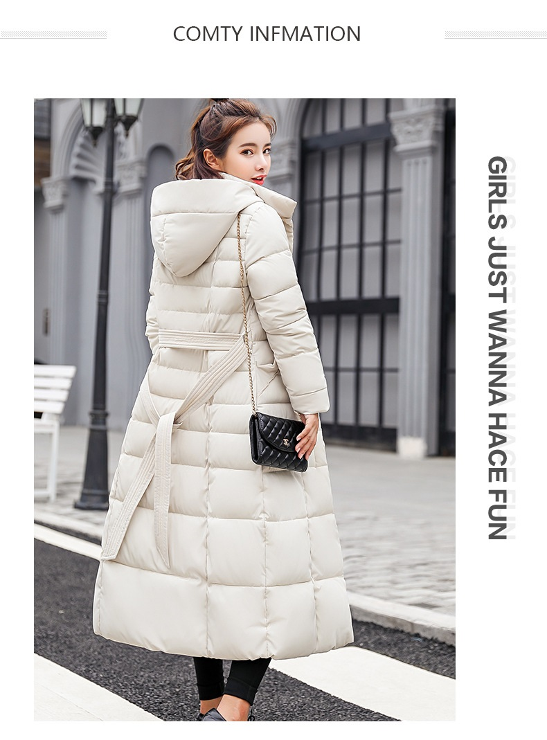 down coat winter belt (2)